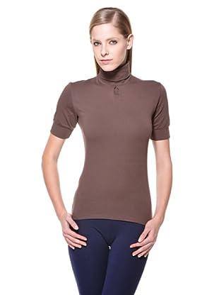 Cotonella Camiseta Cuello Alto (Chocolate)