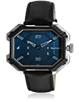 3100Sl03-Dc569 Black/Blue Analog Watch