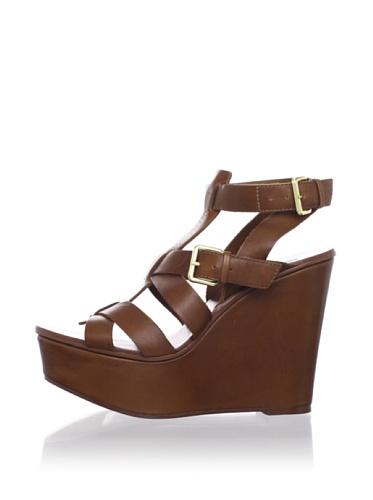 Ash Women's Platform Wedge Sandal (Cuoio)