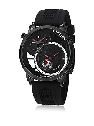 Stührling Original Uhr mit Schweizer Quarzuhrwerk Eclipse Horizon 503.33561 schwarz 47  mm