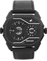 Fastrack Black Dial Analogue Watch for Men (3094NL02)