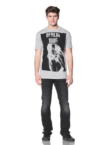 MG Black Label Men's Berlin T-Shirt (Grey)