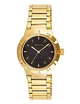 Sonata Analog Gold Dial Men's Watch - 7098YM01