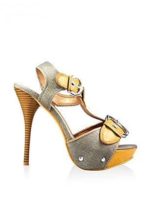 Y&K Sandalo Con Tacco