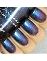 Rollin With The Chromies Linear Holographic Nail Polish 0.5 Oz Full Sized Bottle