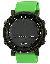 Suunto altimeter Digital Black Dial  Unisex Watch - SS019163000