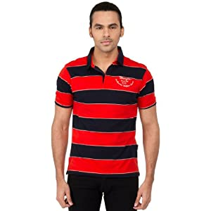 Wrangler Polo T Shirts Red