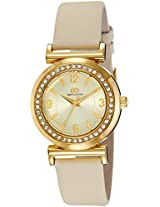 Gio Collection Analog Gold Dial Women's Watch - G2014-04