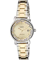 Casio Enticer Analog Gold Dial Women's Watch  - LTP-E120SG-9ADF (A1045)