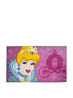 Abc Alfombra Fun Princess Fucsia 45 x 75 cm