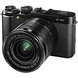 Fujifilm X-M1 Mirrorless Digital Camera with XC 16-50mm f/3.5-5.6 OIS Lens (Black)