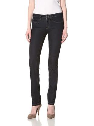 Milk Denim Women's Skinny Jean (Raw Wash)