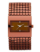 DKNY Designer Analog Brown Dial Women's Watch NY8394