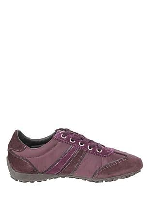 Geox Donna Snake D0112B04322C9999 - Zapatillas para mujer (Morado)
