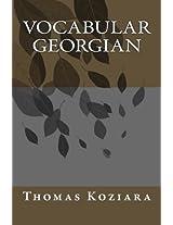 Vocabular Georgian