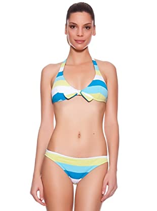 Ellesse Bikini Big Stripped (Azul)