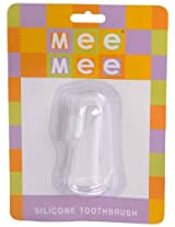 Mee Mee Silicon Tooth Brush (White)
