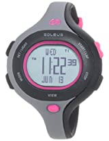 Soleus digital Chicked multi-color strap Women's sports watch - SR009-011