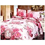 Birde 8 Bedsheets Combo with 3 pearl Mala, 6 pcs Lipstick and 3 pc knife