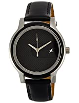 Fastrack His & Hers Upgrades Analog Black Dial Unisex Watch - 6059SL04