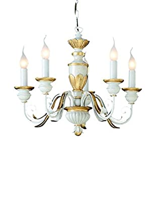 Evergreen Lights Lámpara De Techo Firenze SP5 Blanco Apagado