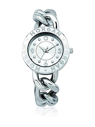Morgan de Toi Orologio al Quarzo Woman M1126W Argentato 29 mm