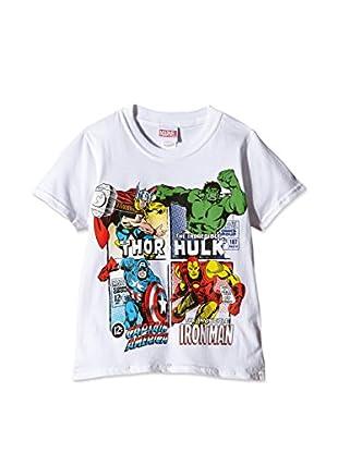 MARVEL T-Shirt Super Heroes Squares
