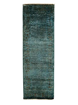 Darya Rugs Ziegler One of a Kind Rug, Light Blue, 2' 8