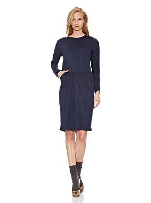 Siyu Vestido Básico (Azul Marino)