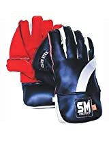 SM Club Star (Leather Palm) Wicket Keeping Gloves