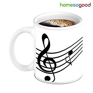 HomeSoGood Music With Stunning Quotes Coffee Mug