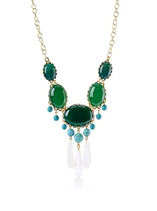 David Aubrey Rissa Multi Stone Necklace