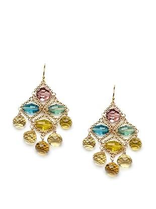 Diane Yang Chandelier Earrings, Champagne