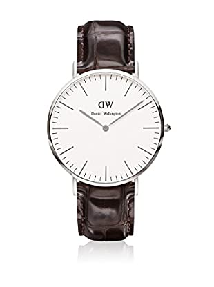 Daniel Wellington Reloj con movimiento cuarzo japonés Man York 40 mm