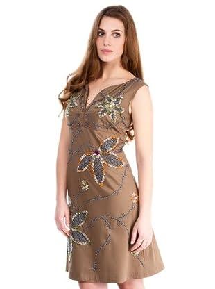 Almatrichi Vestido Valentina (marrón)