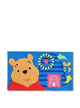 Abc Alfombra Fun Winnie The Pooh Azul 45 x 75 cm