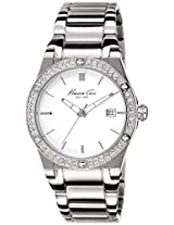 Kenneth Cole Classic Analog White Dial Women's Watch - 10022787