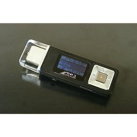 【クリックでお店のこの商品のページへ】AdHoc 充電式MP3プレーヤー HS-635B-1GB: 家電・カメラ