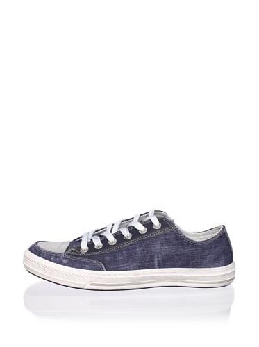 Antony Morato Men's Cap Toe Sneaker (Blue)