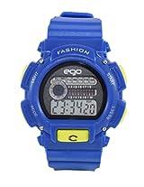 Ego by Maxima Digital Black Dial Men's Watch - E-37132PPDN