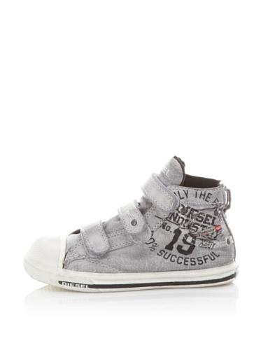 Diesel Kids Magnete Expostrap Sneaker (Grey)