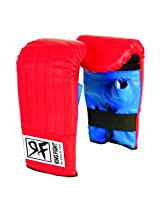 Ceela Sports Ring Fight Punching Gloves Red/Black X Large