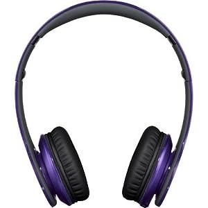 Beats by Dr.Dre Monster 900-00064-02 Solo HD On-the-ear Headset (Purple)