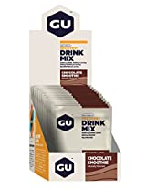 GU Recovery Drink Mix - Pack of 12 (Chocolate Smoothi)