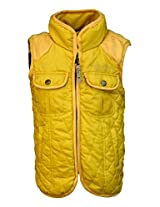 Gron Stockholm Boys' Jacket (GW-018_Yellow_9-10 Years)