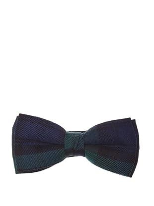 El Ganso Pajarita Tejido Tartán (Azul Marino)