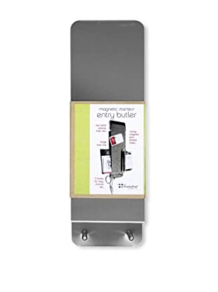 Three by Three Set of 2 Entry Butler Dry-Erase Boards (Stainless)