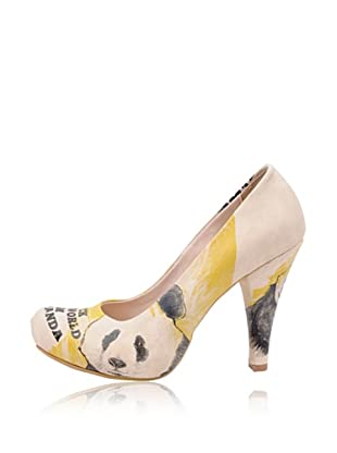 Dogo High Heel I Am A Panda (Creme)