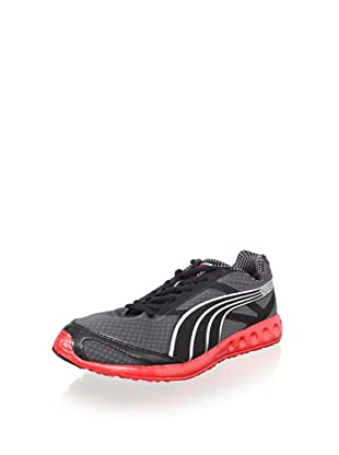 PUMA Men's Faas 400 (Dark Shadow/Black/Red)