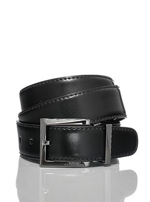 Versace Collection Cinturón Ensor (Negro)